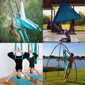CO-Z Aerial Yoga Swing Sling Trapeze Inversion Equipment